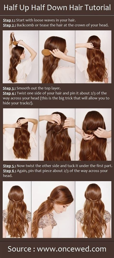Wedding Hairstyles For Hair Half Up Half Tutorial by 12 Wedding Hairstyles Tutorials For Brides And