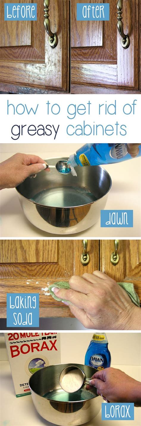 How To Clean Kitchen Cabinet How To Clean Grease From Kitchen Cabinet Doors