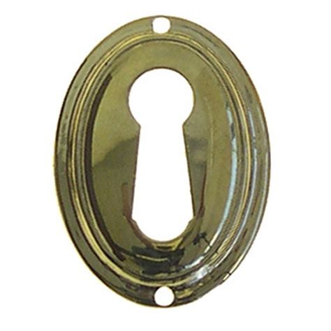 Hook Hanger Oval Vertical Small Hk3 Set Of 3 Pcs keyhole cover plate escutcheon vertical oval