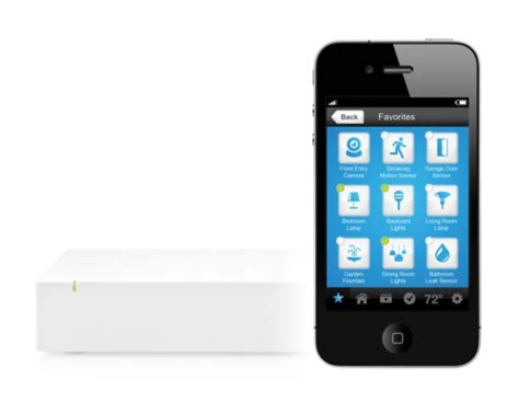 insteon hub automates your home using iphone or android