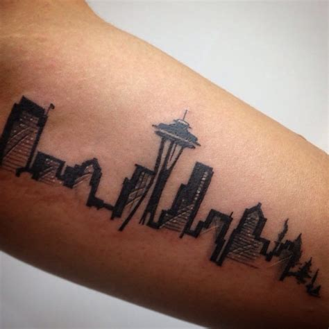 city skyline tattoo designs beautiful tattoos celebrate landmarks and cityscapes from