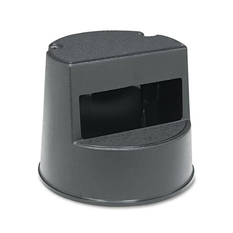 Rubbermaid Two Step Step Stool by Rubbermaid Commercial Products Mobile Two Step Stool In
