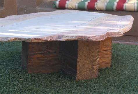 flagstone coffee tables eclectic outdoor coffee tables