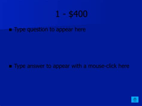 download jeopardy template powerpoint download for free
