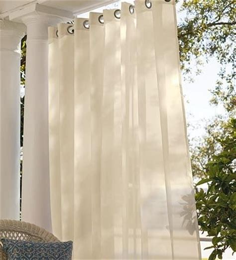 Outdoor Sheer Curtains For Patio by Design A Dreamy Atmosphere With Sheer Outdoor