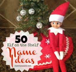 on the shelf names 50 ideas for boys and