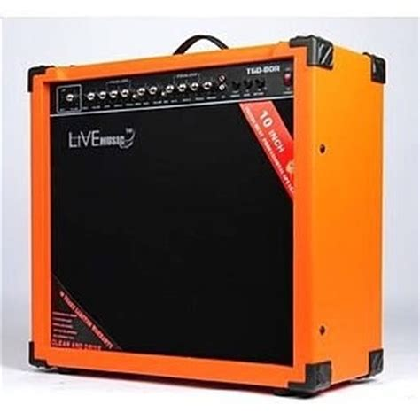 Live Tg 80w Electric Guitar Lifier Reverberation 2 Port 80w live tg 80w electric guitar lifier reverberation 2 port 80w black orange