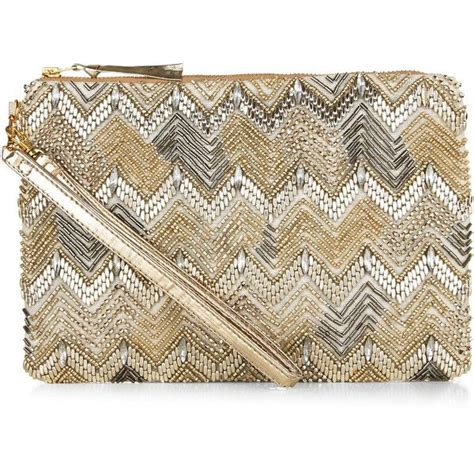 Chevron Print Embellished Bag From Accessorize 16 best wedding guest dresses top finds images on