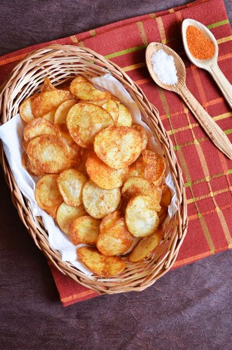 easy potato chips recipe how to make potato chips at home recipe festival recipe potato