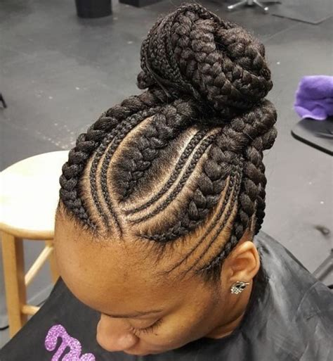 braids too big for bun 70 best black braided hairstyles that turn heads in 2018