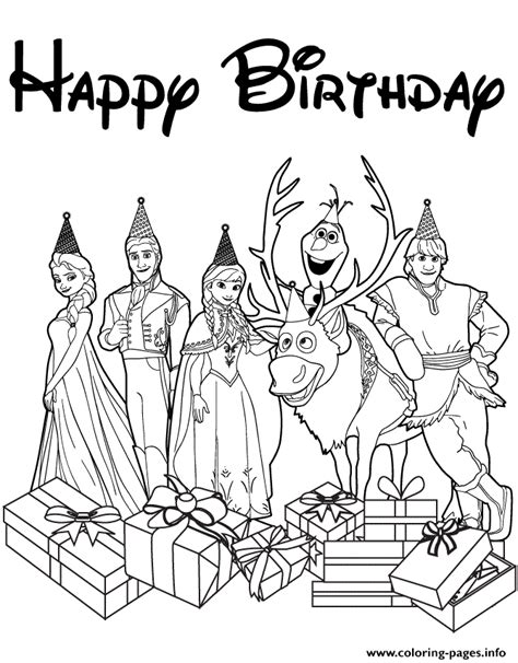 ryder s birthday coloring page free printable coloring pages disneys frozen cast happy birthday wishes colouring page