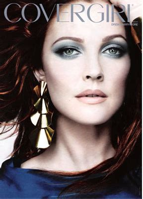 Drew Barrymore Is The New Covergirl by Second Ad Shadow Blast Katemarie623