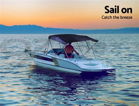 Bow Window Support Brackets 4 bow 1 8m 2m boat bimini top canopy aluminium rear poles