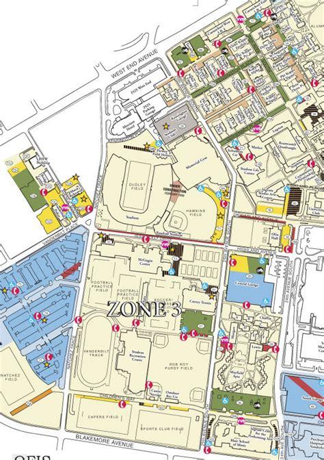 vanderbilt map parking f permits maps parking services vanderbilt