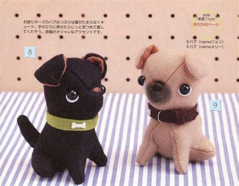 pug sewing pattern puppy bulldog pug plush sewing pattern pdf