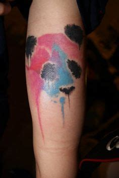 watercolor tattoo wellington 1000 images about panda on panda tattoos