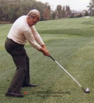 moe norman golf swing video moe norman golf winter practice working with the