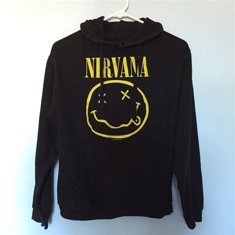 Hoodie Nirvana Sweater 70 topic sweaters topic nirvana hoodie from s closet on poshmark