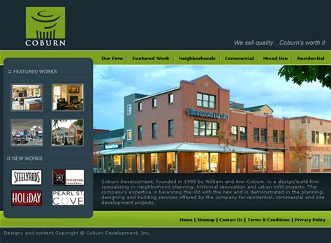 website homepage design by sandeep ahlawat at coroflot