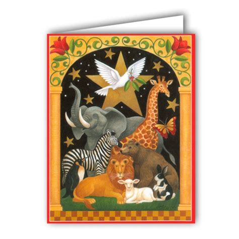 Cards Boxed - animal kingdom boxed cards paperstyle