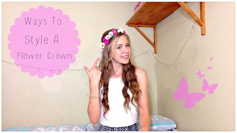 Easy Flower Hairstyles by And Easy Hairstyles Flower Crown Edition