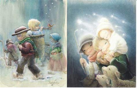 imagenes navidad vintage navidad ferrandiz colecci 243 n navidad cards illustration