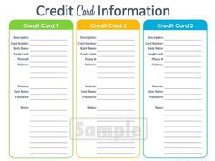 editable credit card template printable index card templates 3x5 and 4x6 blank pdfs