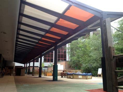 School Canopies Prior Weston Primary School Islington Free Standing