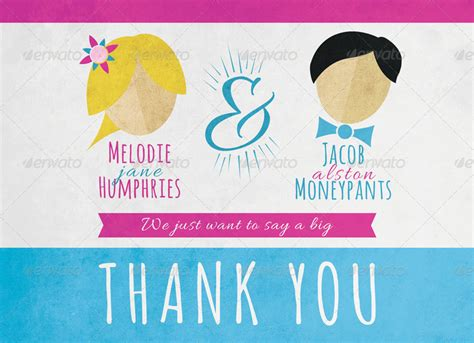Wedding Announcement Thank You Cards by Wedding Announcement With Thank You Card By Fakerjack