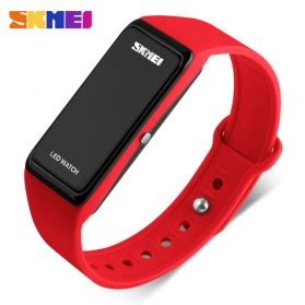 Baru Jam Tangan Digital Dskmei Silicon Wristband Led 0951 skmei wristband jam gelang led 1265a blue