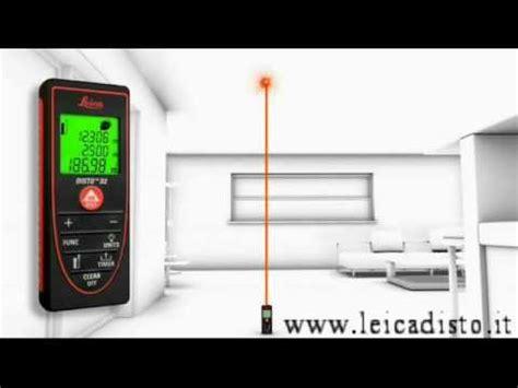 misuratore laser leica disto d2 funzioni youtube