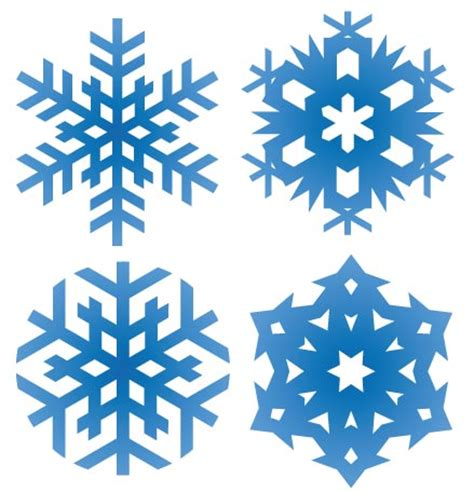 snowflake pattern illustrator snowflakes vector pattern shapes