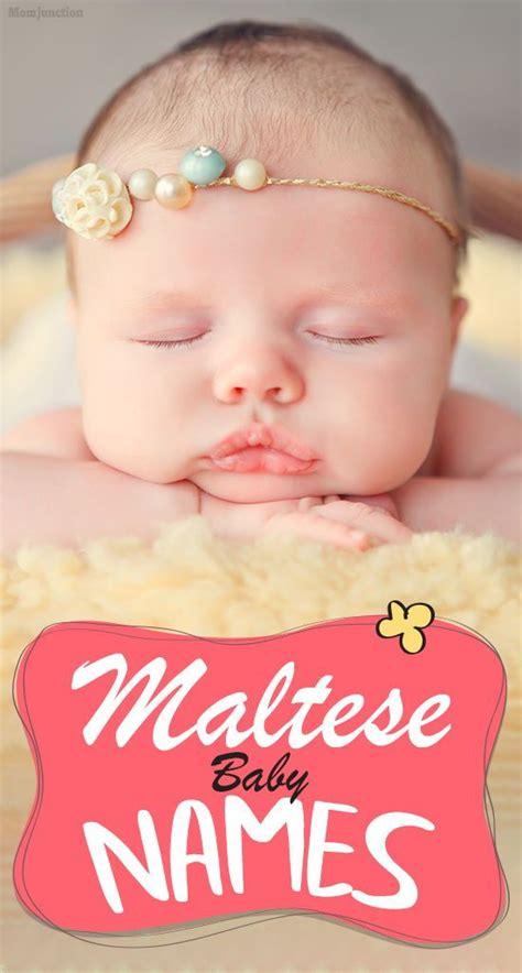 popular maltese baby names  girls  boys
