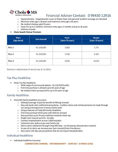 Dual Mba Ms Health Economics by Cholamandalam Health Insurance Coimbatore Cholamandalam
