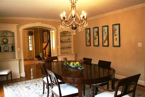 dining room  crestron lighting control monaco av