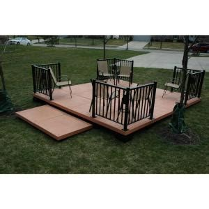 temporary deck udecx portable deck and patio systems dayton