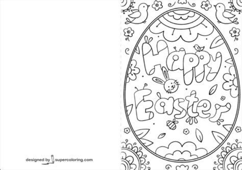 coloring pages for easter cards printable coloring pages for easter happy easter card