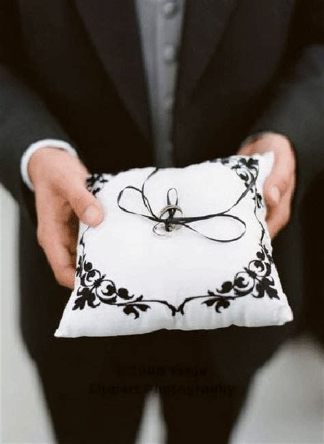 Unique Ring Bearer Pillow Alternative by Unique Ring Bearer Pillows Alternatives Truly Engaging