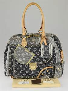 Patchwork Louis Vuitton - louis vuitton limited edition grey denim monogram denim