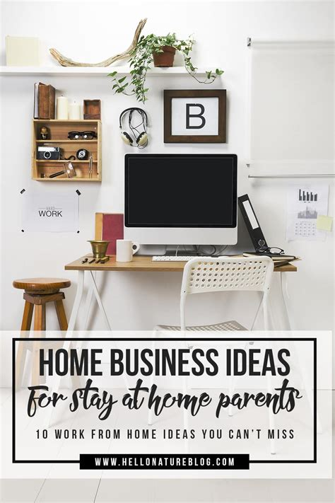 ten home business ideas for stay at home parents hello