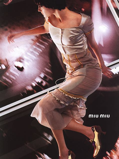 Miu Miu Ad Caign Flashback Drew Barrymore by Miu Miu Fashion History The List