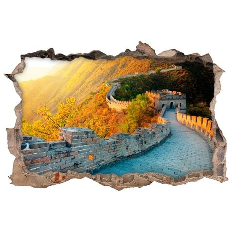 wall stickers china wall stickers 3d the great wall of china