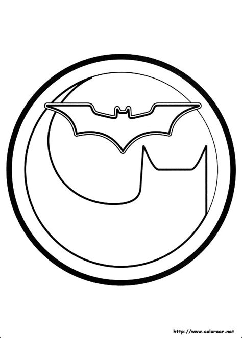 free coloring pages of blue batman symbol