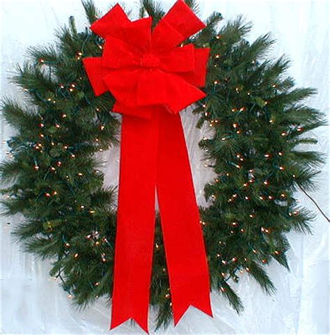 4 foot christmas wreath by corner crafters