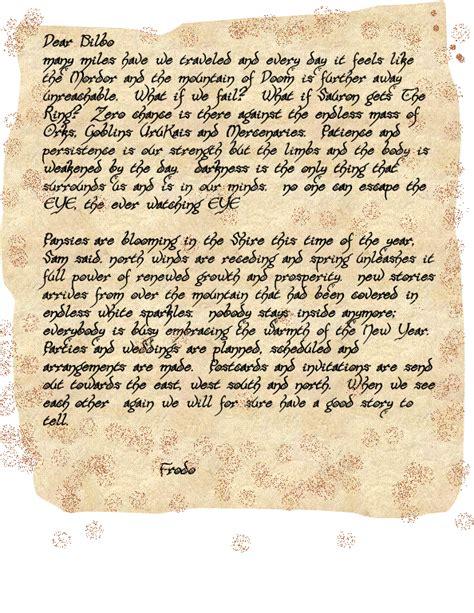 Letter Hobbit Gc5k686 Lotr 061 Letters Unknown Cache In Arkansas