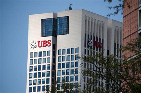 schweizer bank ubs schweizer bank ubs rechnet mit ende der lockeren ezb