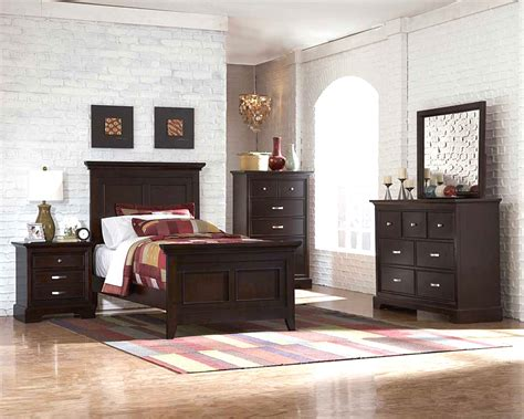 dark cherry bedroom furniture dark cherry bedroom set he349 kids bedroom