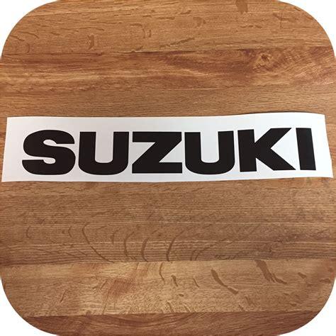 Suzuki Samurai Stickers Black Suzuki Samurai Tailgate Sticker Decal 87 95