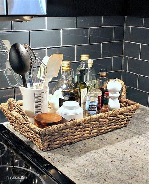 Organize Kitchen Counter Clutter by Five Ways To Organize Counter Clutter New House New Home