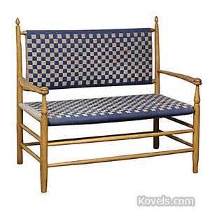shaker settee antique furniture furniture clocks lighting price
